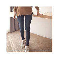 MASoeur - Brushed Fleece Lined Skinny Jeans