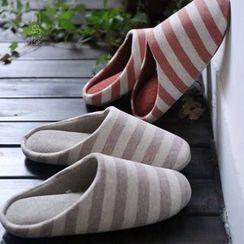 Kawa Simaya - Striped Couple Slippers