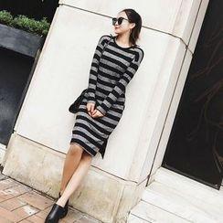 Jack Grace - Striped Knit Dress