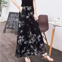 Flore - Printed Pants