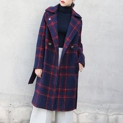 TAILO - Plaid Buttoned Coat
