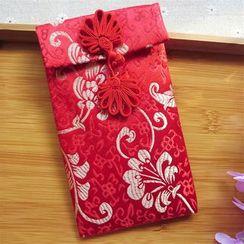 Lucky Cat - 刺绣红包袋