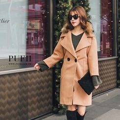 PUFII - Woolen Long Coat