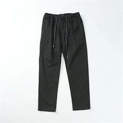 THE COVER - Drawstring-Waist Chino Pants