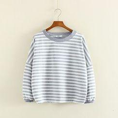 Mushi - Striped Sweatshirt