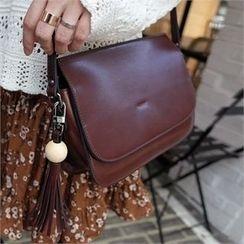 Styleberry - Tassel-Detail Shoulder Bag