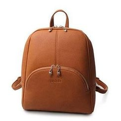 SUOAI - Faux Leather Backpack