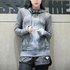 Quintina - Hooded Zip Sports Jacket