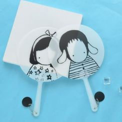 Cutie Bazaar - Cartoon Print Hand Fan