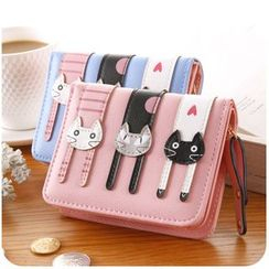 Momoi - Cat Zip Wallet