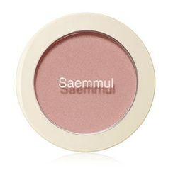 The Saem - Saemmul Single Blusher (#CR01 Naked Peach)
