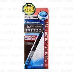 K-Palette - 1 Day Tattoo Real Lasting Eyeliner 24h Waterproof (#DB001 Deep Brown)