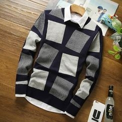 Fusuma - Color Block Sweater
