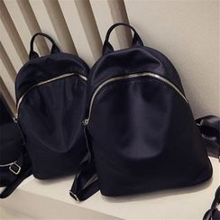 Nautilus Bags - Faux-Leather Backpack