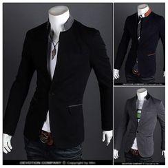 Fireon - Mandarin Collar Blazer