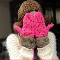 Damasco - Ribbed Mittens