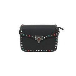DABAGIRL - Studded Flap Shoulder Bag