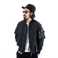 YIDESIMPLE - Arm-Pocket MA-1 Jacket