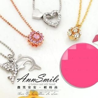 AnnSmile - Rhinestone Necklace