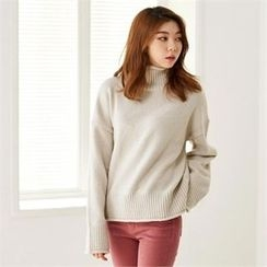 MAGJAY - Mock-Neck Knit Top