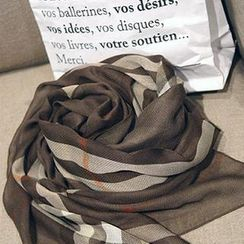 NANING9 - 格子圍巾