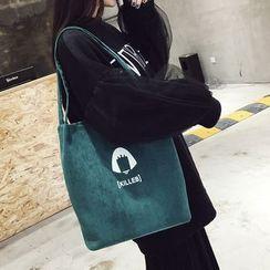 Rosanna Bags - Printed Corduroy Tote Bag