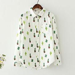ninna nanna - Cactus Print Shirt