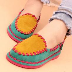 IYATO - 饰缝线乐福鞋