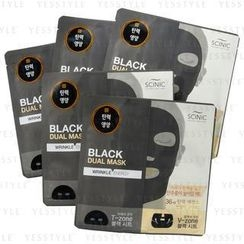 Scinic - Black Dual Mask (Wrinkle Energy)