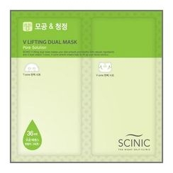 Scinic - V lifting Dual Mask (Pore Solution)