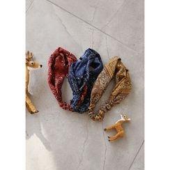 GOROKE - Paisley Fabric Elastic Hair Band