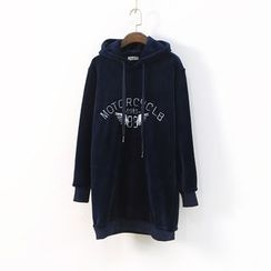 Ranche - Embroidered Long Hoodie