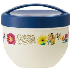 Skater - Alice in Wonderland Bowl Lunch Box Ladies (Flower)