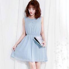 Tokyo Fashion - Sleeveless A-Line Dress