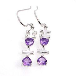 Bellini - Amethyst 'Xixi' Earrings