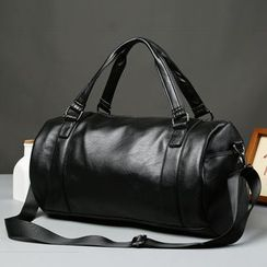 BagBuzz - Faux Leather Carryall Bag