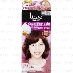 Kao - Liese Blaune Creamy Foam Color (Pinkish Brown)