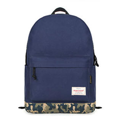Mr.ace Homme - Camouflage-Bottom Nylon Backpack