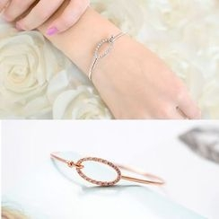Avery - Rhinestone Bangle