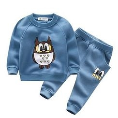 Endymion - Kids Set: Print Sweatshirt + Pants