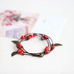 Porcelana - Beaded Layered Bracelet