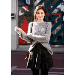 DEEPNY - Pointelle Knit Sweater