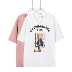 Momewear - Short-Sleeve Printed T-Shirt