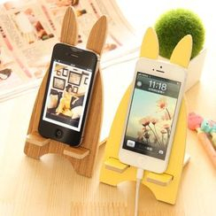 Desu - Rabbit Wooden Mobile Phone Stand