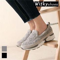 Wifky - Mélange Slip-Ons