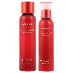 Mamonde - Age Control Skin Softner 200ml + Emulsion 150ml