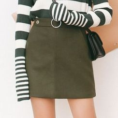 Woodie - Knit A-line Skirt