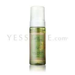 Skinfood - Green Tea Bubble Cleansing Foam