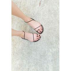 ATTYSTORY - Braided-Strap Flip-Flops