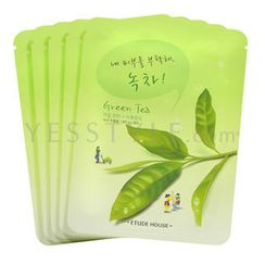 Etude House - I Need You, Green Tea! Mask Sheet
